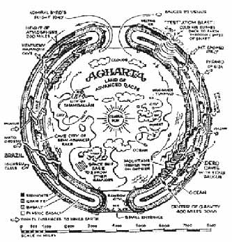 La terra cava secondo Miguel Serrano