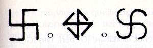 fyrfos,croce uncinata
