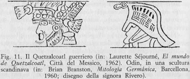 Quetzalcoalt e Odino