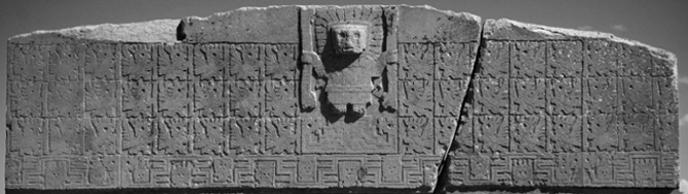 Tiahuanaco, porta del sol - Calendario